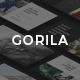 GORILA - Keynote Template - GraphicRiver Item for Sale