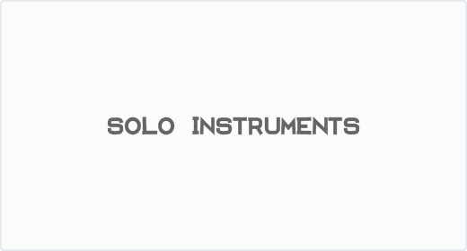 Solo Instruments