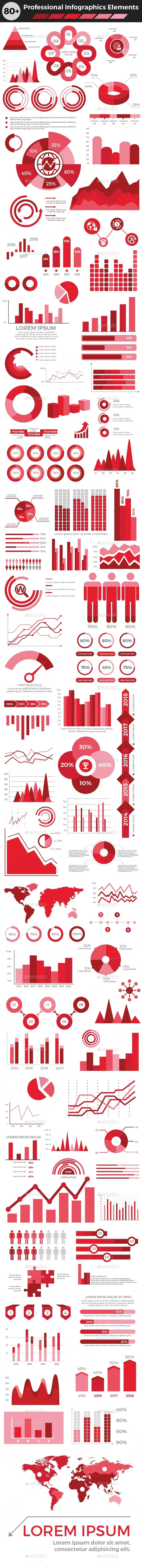 Professional Infographics Elements - Infographics