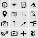 Vector Black Navigation Icon Set - GraphicRiver Item for Sale