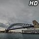 Boats under Sydney Harbour Bridge 2 - VideoHive Item for Sale