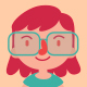 Geek Girl Wearing Glasses Set - GraphicRiver Item for Sale