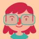 Geek Girl Wearing Glasses Set - GraphicRiver Item for Sale