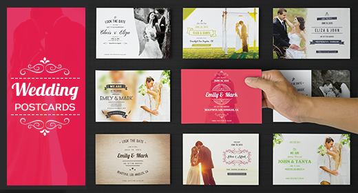 Wedding and Anniversary Postcards