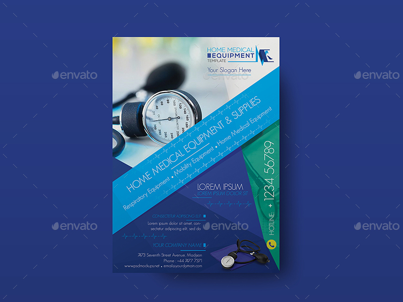 Home Medical Equipment/ Flyer Template
