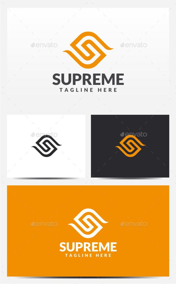 Supreme - Letter S Logo - Letters Logo Templates