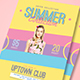 Summer Fashion Week Flyer - GraphicRiver Item for Sale