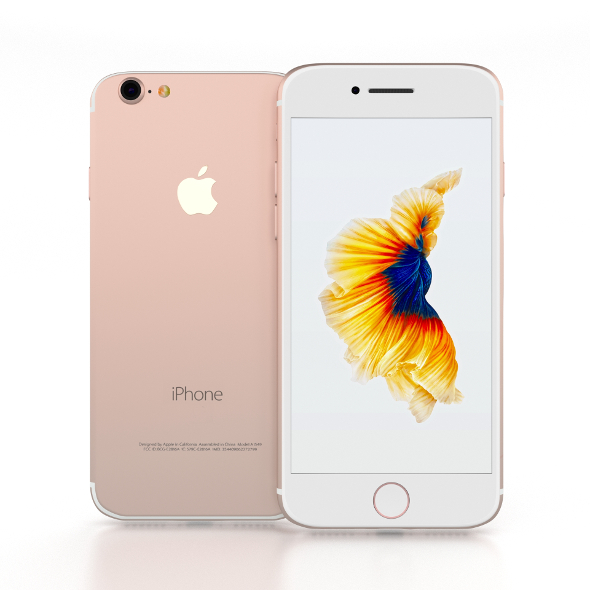 iPhone 7 Rose Gold - 3DOcean Item for Sale