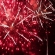 Festive Fireworks In The Night Sky - VideoHive Item for Sale