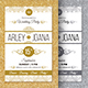 Gold & Silver Invitation - GraphicRiver Item for Sale