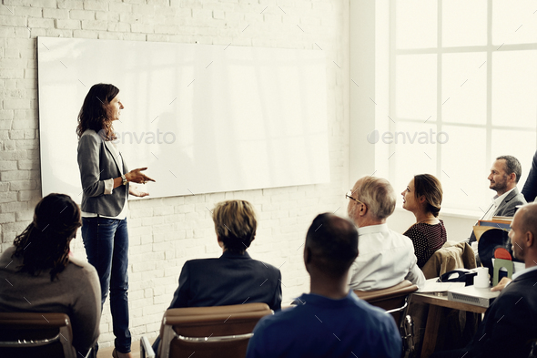 Conference Training Planning Learning Coaching Business Concept - Stock Photo - Images