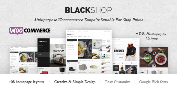 BlackShop – Responsive eCommerce Theme