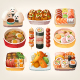 Japanese Food Stickers - GraphicRiver Item for Sale