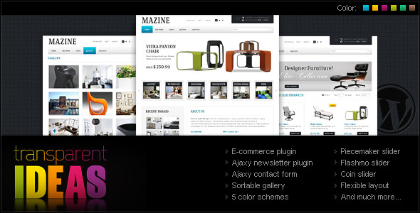 Mazine WordPress Theme – A WP E-Commerce theme