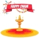Onam Sale Banner with Ribbon - GraphicRiver Item for Sale