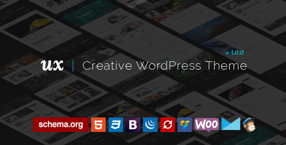 UX – Creative WordPress Theme