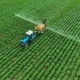 Spraying Potato Fields With Herbicides.The Protection Of Plants 2. - VideoHive Item for Sale