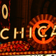 Chicago Bright Neon Theater Marquee at Night - VideoHive Item for Sale