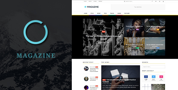 WordPress Magazine Theme & News, Blog | ST Magazine