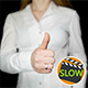 Businesswoman Showing Thumb Up Sign 2 - VideoHive Item for Sale