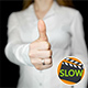 Businesswoman Showing Thumb Up Sign - VideoHive Item for Sale