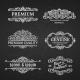 Vintage Vector Banners Labels Frames - GraphicRiver Item for Sale