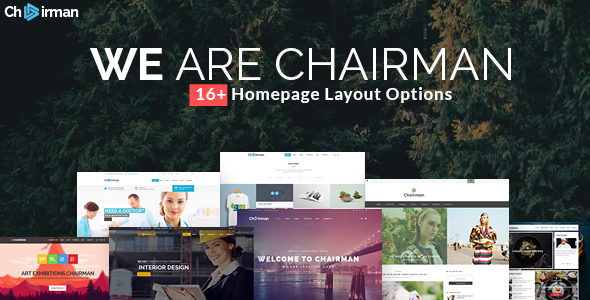 Chairman - Responsive Multi-Purpose Theme - Corporate WordPress