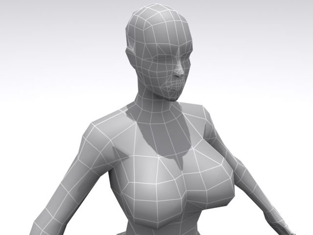 Female - Base - 3DOcean Item for Sale