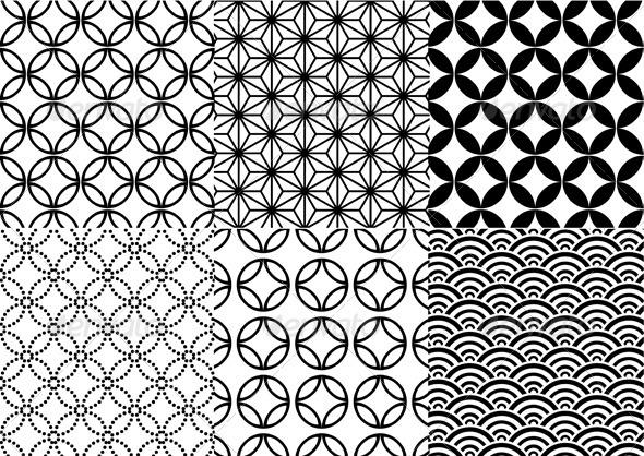Seamless Japanese Pattern - Patterns Decorative