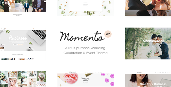 Image of Moments - A Multipurpose Wedding, Celebration & Event Theme