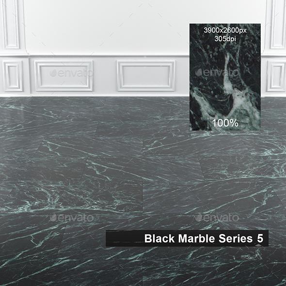 Black Marble Texture 5 - 3DOcean Item for Sale
