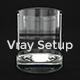 Vray Glass Render Setup  - 3DOcean Item for Sale