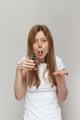 Sick girl pill - PhotoDune Item for Sale