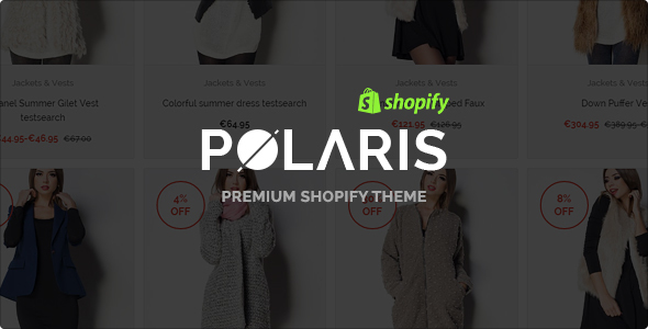 Polaris – Modern & Powerful Shopify Theme