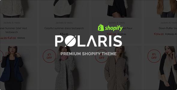 Polaris - Modern & Powerful Shopify Theme