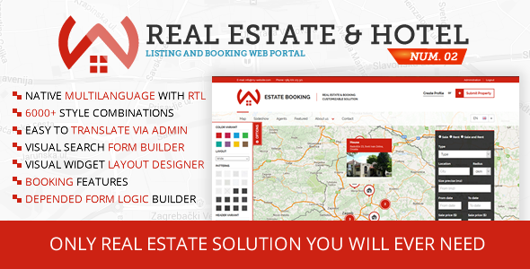 Property Listing and Hotel Booking Portal #02 - CodeCanyon Item for Sale