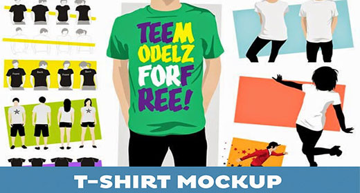 Best T-Shirt Mockup PSD Templates
