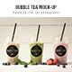 Bubble tea Mockup - GraphicRiver Item for Sale
