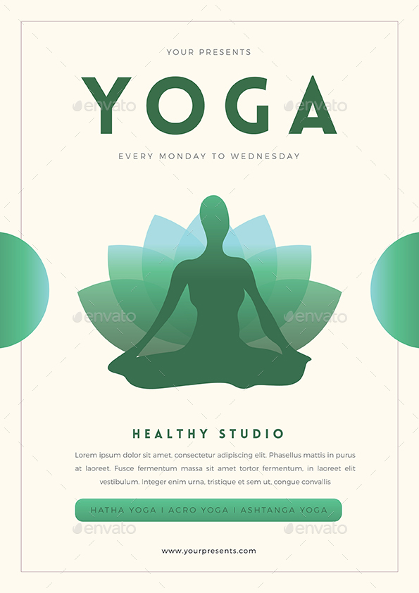 Yoga Flyer by Guuver | GraphicRiver