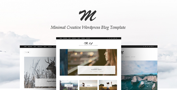 TheM – Minimal Creative WordPress Blog Theme