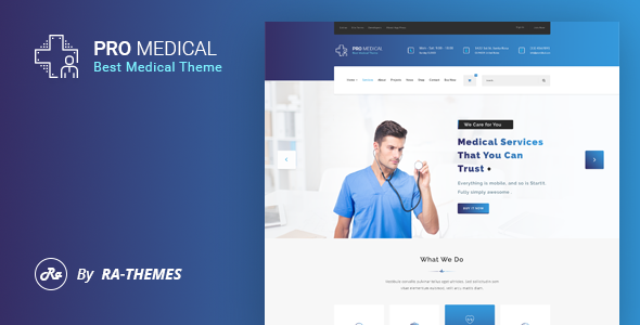 ProMedical – Health care & Medical PSD Template