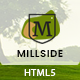 Millside - Golf and Sport Website template Nulled