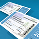Boarding Pass Wedding Invitation - GraphicRiver Item for Sale