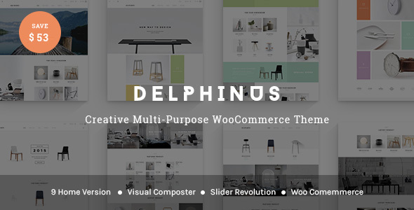 Delphinus – Creative Multi-Purpose WooCommerce Theme