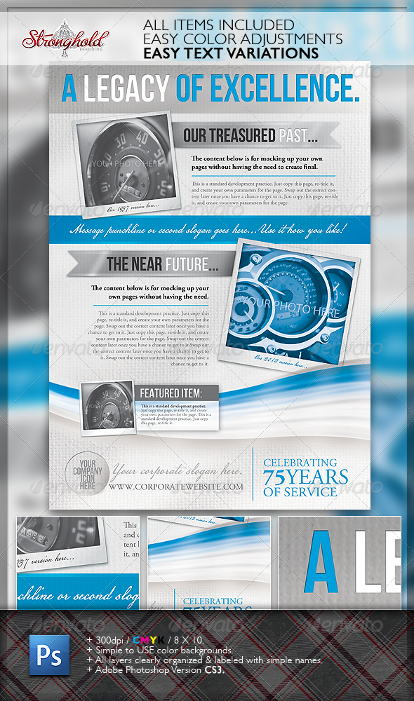 Legacy Corporate Flyer Template - Corporate Flyers