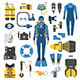 Scuba Diving Elements and Gear Set - GraphicRiver Item for Sale