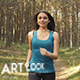 Morning Jogging In The Park - VideoHive Item for Sale