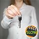 Woman Showing House Keys 4 - VideoHive Item for Sale
