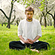 Man Meditating in The Park - VideoHive Item for Sale