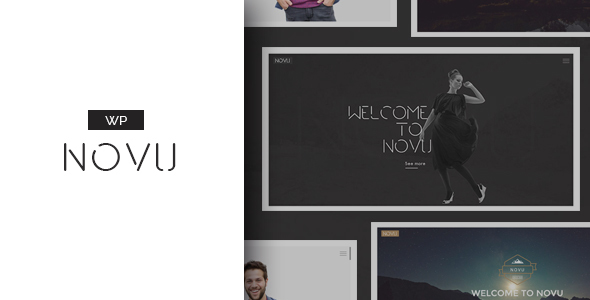Novu – Modern & Creative WordPress Theme